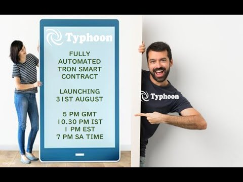 presentation-project-typhoon-!-fully-automated-smart-contract-based-on-tron-blockchain!just-launched