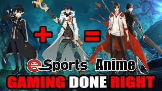 Chinese E-Sports Anime Hidden Gem of Spring 2017? Kirito + Shiroe = Lord Grim in The King
