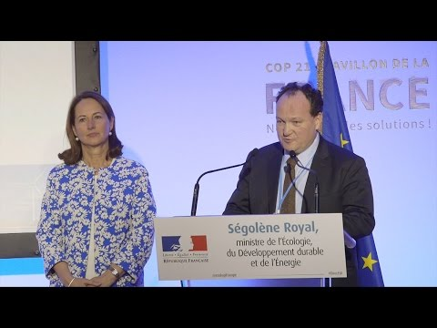 A boost for the energy transition in France announced by Minister Royal and VP Fayolle