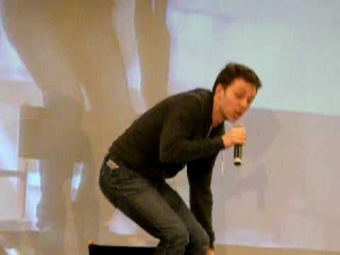 Gabriel Tigerman in LA 09: His Jared & Jensen impressions