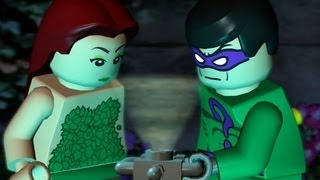 LEGO Batman 100% Guide - Villains Episode 1-3 - Green Fingers - (All Minikits/Red Brick/Hostage)