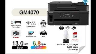 Canon GM 4070 wifi printer,can…