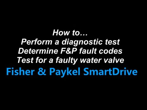 How To Determine Fisher Paykel Diagnostic Fault Codes, Test & Repair