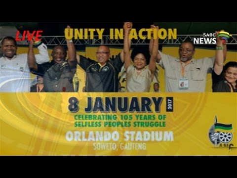 ANC 105 Birthday Celebration, 8 January 2017