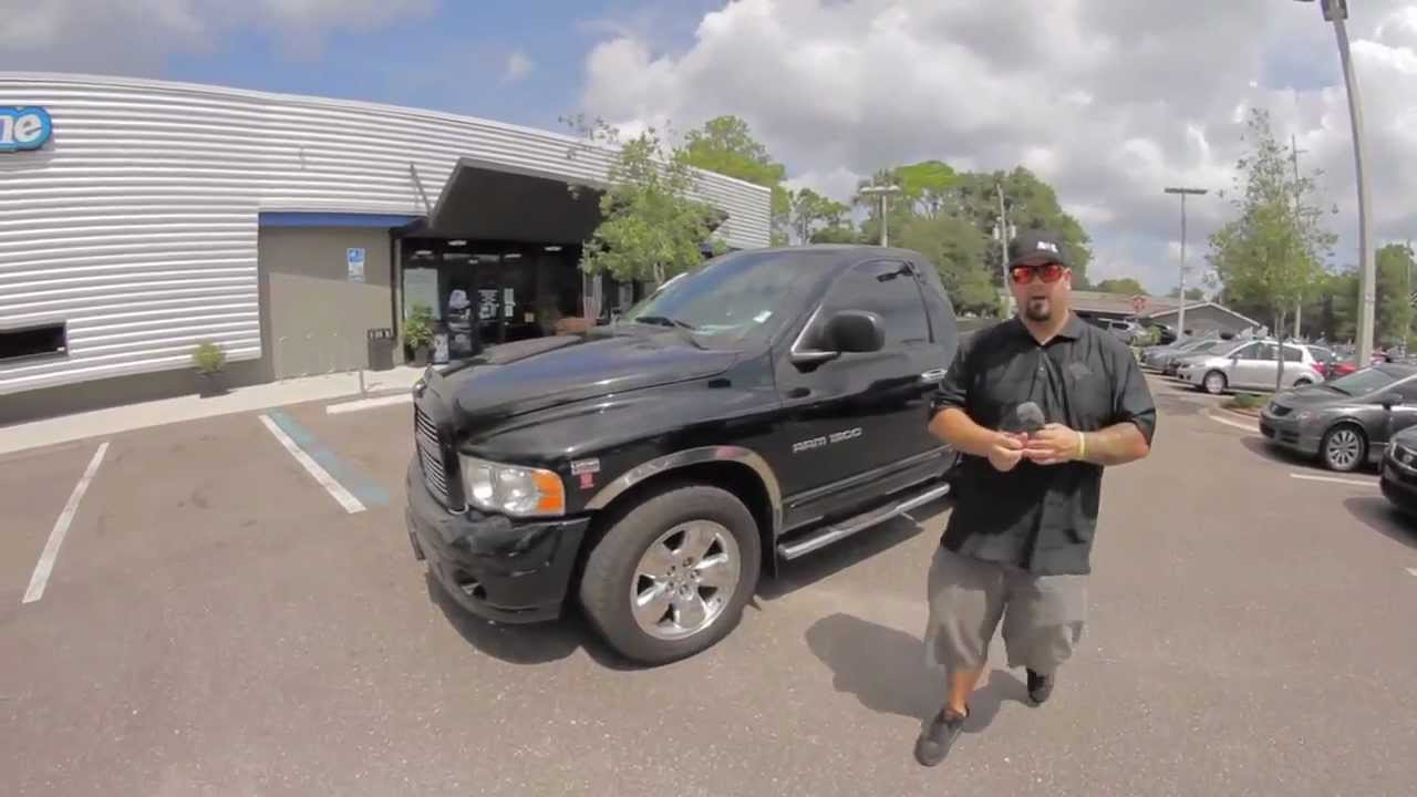 Autoline's 2005 Dodge Ram 1500 SLT/Laramie Walk Around Review Test Drive