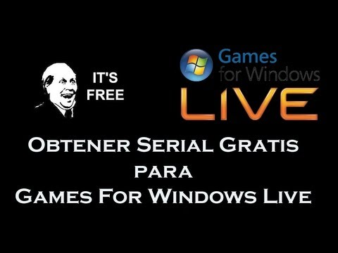 Obtener serial Gratis de Games for Windows Live [PC]