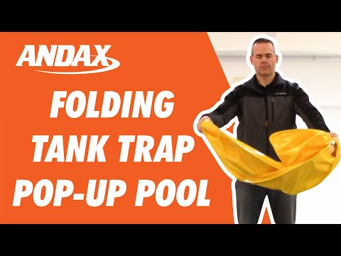How to Fold the Top Selling Tank Trap™ Spill Containment Pool from Andax Industries