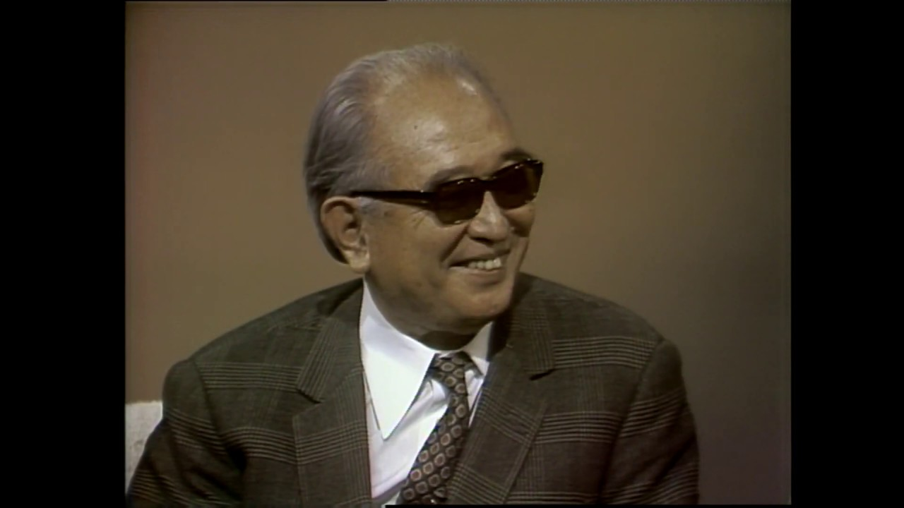 Akira Kurosawa Appears in a Rare Television & Tells Dick Cavett about His Love of Old Tokyo & His Samurai Lineage (1981)
