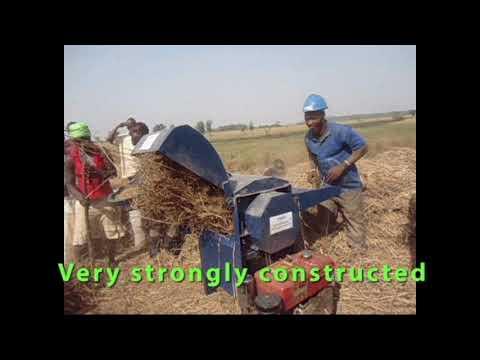 FINIC Rice Threshing Machine - Made in  Sierra Leone