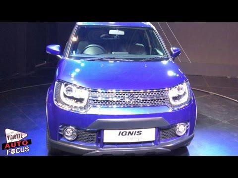 Maruti Suzuki Unveils Concept Ignis at Auto Expo 2016