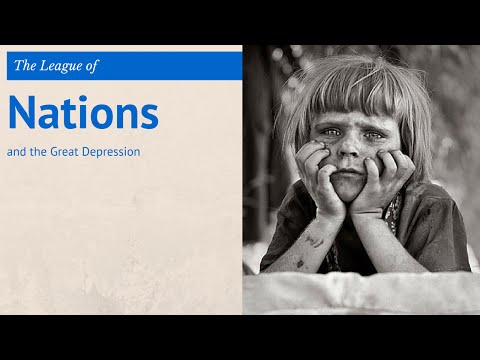 5: GCSE History - the Great Depression & the League of Nations