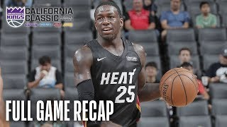 HEAT vs WARRIORS | Herro, Nunn Prove to Be Dynamic Duo | California Classic