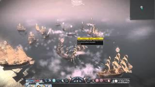 Total War: Napoleon - Capturing the Santissima Trinidad (biggest ship in the game!)