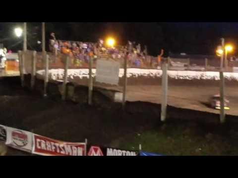 Jeff Leka Racing.  Prairie Dirt Classic heat win! 2016
