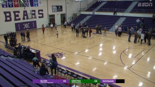 BSDN Live - Blair vs Gretna - Boys Basketball - 2018/19