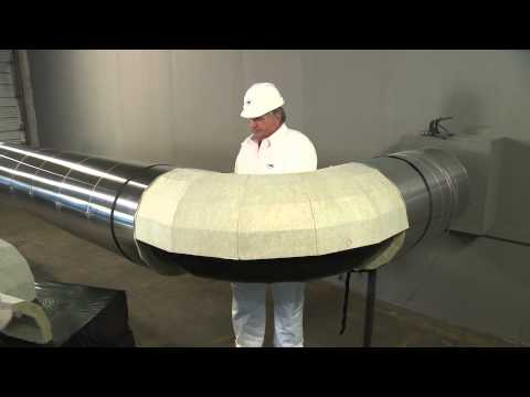 Installing Minwool 1200 174 Precision Cut Pipe Insulation