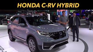 2020 Honda CR-V Hybrid First Look