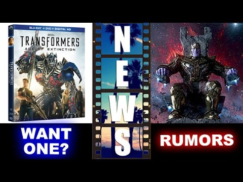 Avengers 3 2018 AND 2019?! TWO MOVIES?! Plus Transformers 4 Blu-Ray  Giveaway! - Beyond The Trailer