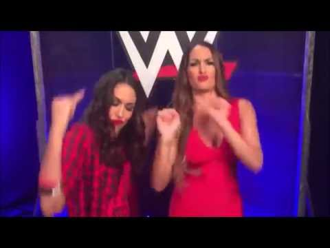 The Bella Twins Dancing to Mark Henry's Theme Song