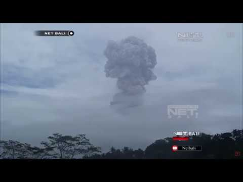 Report On The 12/24/17 Eruption ~ Net.Bali ~ Mount Agung
