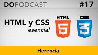 HTML y CSS Esencial #17 -  Herencia