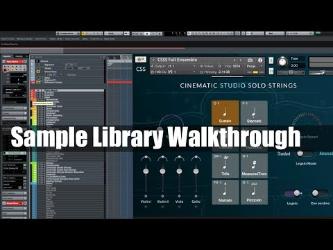 Sample Library Walkthrough: Cinematic Studio Solo Strings