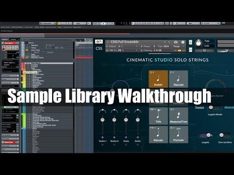 Sample Library Walkthrough: Cinematic Studio Solo Strings