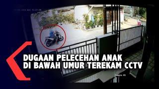 Dugaan Pelecehan Anak di Bawah Umur Terekam di CCTV