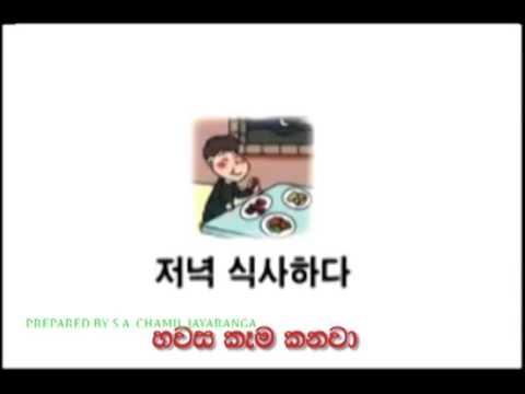 EPS TOPIK  Lesson 01 - Lesson 10 sinhala Sri Lanka Korean Exam