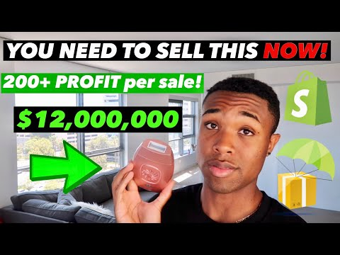 The BEST High Ticket Dropshipping Product to Sell in 2019 - 2020! ($200+ PROFIT Per Sale on Shopify) thumbnail