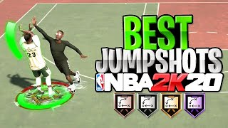 The BEST JUMPSHOTS on NBA 2K20 - BEST JUMPERS for ALL ARCHETYPES in NBA 2K20