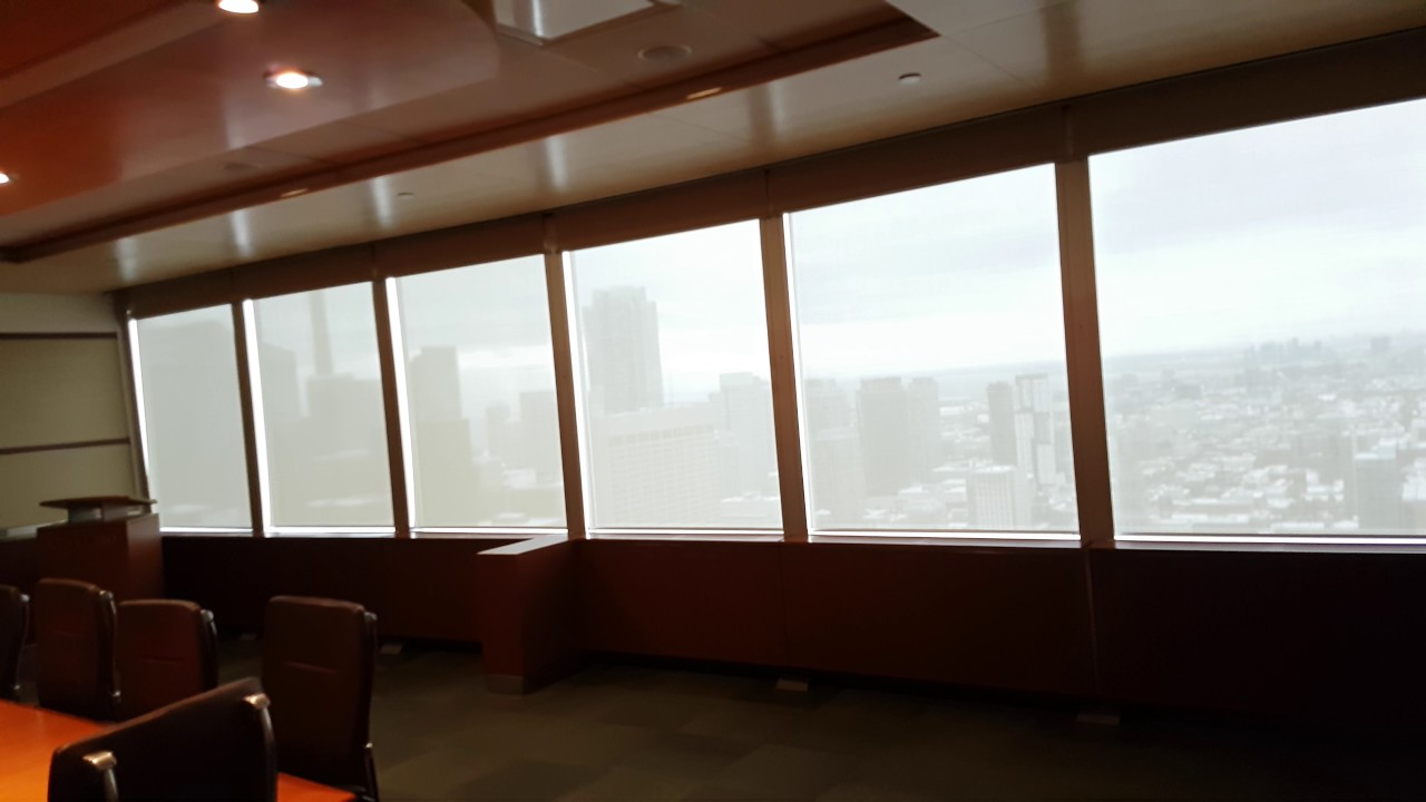 motorized blackout roller shades