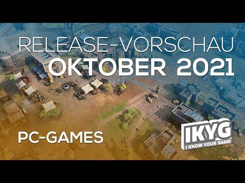 Games-Release-Vorschau - Oktober 2021 - PC