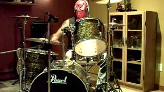 Ramones - Spider Man Live - Drum Cover