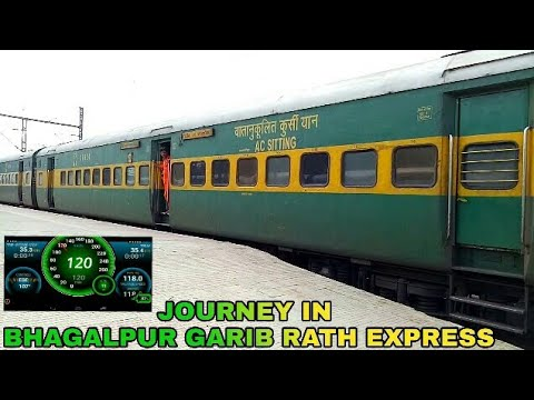 Onboard Journey In 22406 Delhi Anand Vihar- Bhagalpur Garib Rath Express: From Allahabad To Patna!!