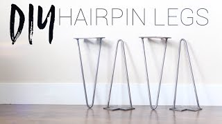 hairpin coffee table legs