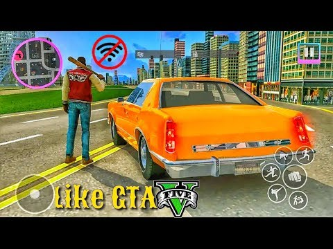 Top 10 New Offline Games Like GTA 5 For Android 2019
