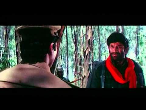 Encounter Movie || Conversaion Between Krishna And Vinodkumar || Krishna,Radha,Roja