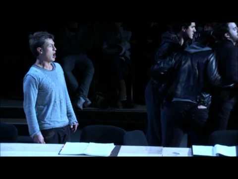 Samuel Boden sings The Evangelist in Bach St Matthew Passion.wmv