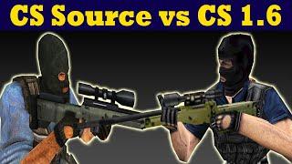 Counter Strike Source vs Counter Strike 1.6