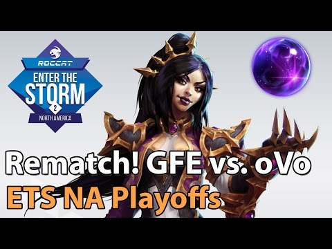 ► Heroes of the Storm Pro Gameplay: Gale Force vs. oVo - The Rematch! - ETS NA Playoffs