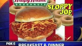 Chicken Charlie's Krispy Kreme Sloppy Joe Debuts At The San Diego County Fair
