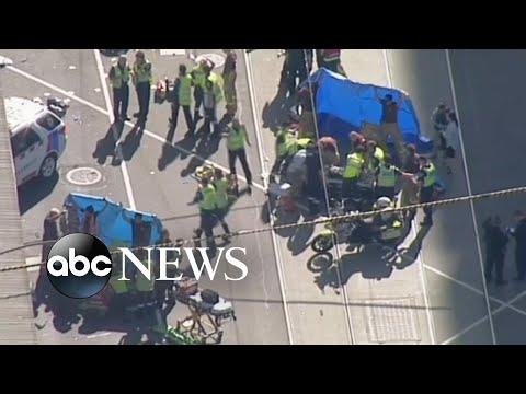 'Deliberate' car ramming injures 19 in Australia