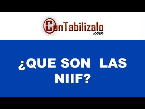 Que son las NIC - NIIF Normas Internacionanes de Información Financiera