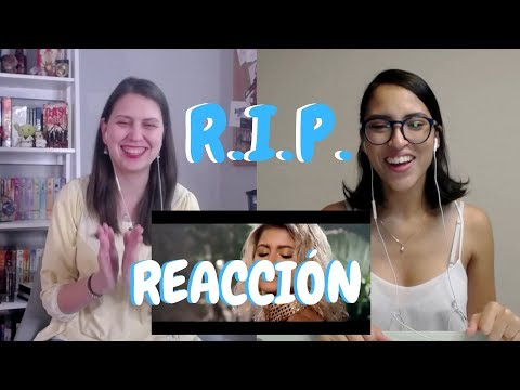 RIP Sofia Reyes ft Anitta Rita Ora - Reacción