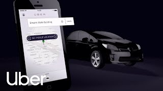 Comment fonctionne uberX? Uber et son app.