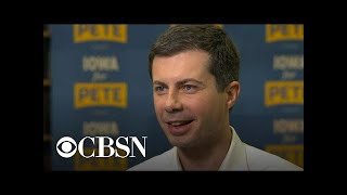 2020 Democratic presidential hopeful Pete Buttigieg barnstorms Iowa