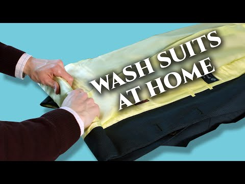 how-to-wash-men's-suits-at-home