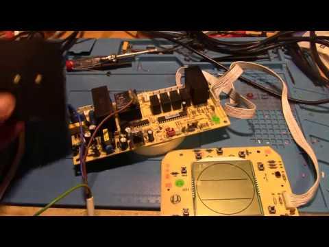 # 121 - Electronique - Réparation Carte De Commande Climatiseur