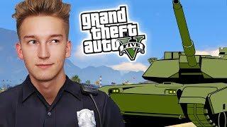 GTA V Policja #2 - POŚCIG za CZOŁGIEM!
